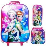 3 In 1 Set Frozen Character Trolley School Bag Pack Set   Babies & Kids Accessories for sale in Lagos State, Lagos Island