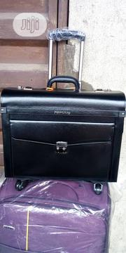 Quality Leather Men's Briefcase /Trolley Bag | Bags for sale in Lagos State, Lagos Island