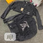 Louis Vuitton Quality Unisex Jeans Jacket | Clothing for sale in Lagos State, Lagos Island
