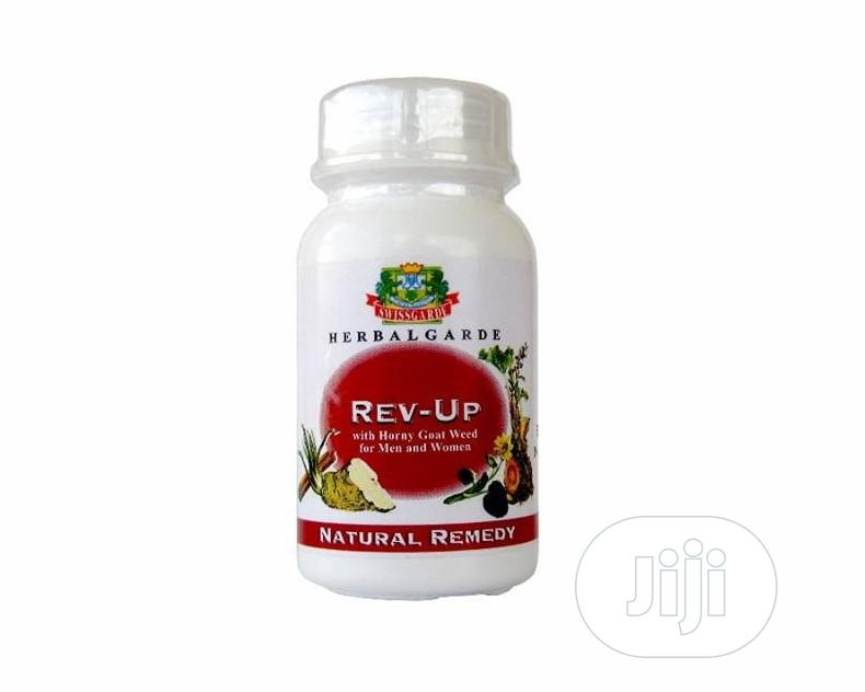 Swissgarde Rev-up - Boost Vitality And Vigour In Both Men And Women | Vitamins & Supplements for sale in Surulere, Lagos State, Nigeria