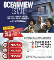 Residential Land at Oceanview Estate Ibeju Lekki For Sale.   Land & Plots For Sale for sale in Lagos State, Ibeju