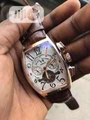 Classic Automatic Franck Muller Wristwatch With Genuine Leather | Watches for sale in Lagos State, Lagos Island