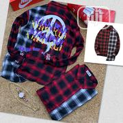 Original Long Sleeve Checkered Shirts   Clothing for sale in Lagos State, Lagos Island
