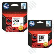 HP 650 Original Ink Cartridge | Accessories & Supplies for Electronics for sale in Abuja (FCT) State, Wuse 2