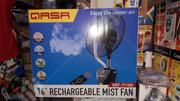 "QASA 16"" Rechargeable Mist Fan - QRF 7116R 