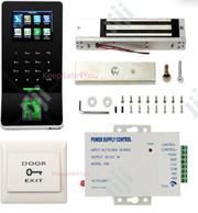 F22 Time Attendance Fingerprint Access + EM Lock+ Power Supply + Exit | Computer Hardware for sale in Lagos State, Ikeja