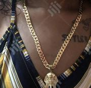 Classic Italia Gold Plated Neckchain With Ooshaamu | Jewelry for sale in Lagos State, Lagos Island