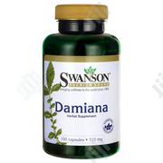 Swanson Damiana 510mg, 100 Capsules   Vitamins & Supplements for sale in Lagos State, Lekki Phase 1