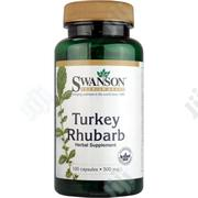 Swanson Turkey Rhubarb 500mg 100 Capsules   Vitamins & Supplements for sale in Lagos State, Lekki Phase 1