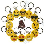 Silicone Emoji Emoticon Smiley Face Keychain Keyring | Babies & Kids Accessories for sale in Lagos State, Surulere