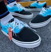 Vans Off the Wall Classic Sneakers Black/Blue | Shoes for sale in Lagos State, Lagos Island
