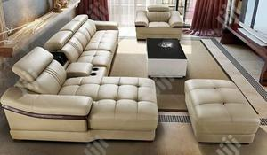 Luxury L Shaped Sofa With Center Table