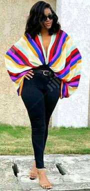 Female Chiffon Top With Rainbow Color | Clothing for sale in Lagos State, Lagos Island