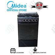 Midea 4-Burner Gas Cooker 20bmg4g007-B (50 X 55cm) - Black | Kitchen Appliances for sale in Lagos State, Ojo
