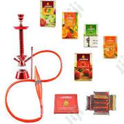 Complete Luxury Stratus Hookah Pot-- Red | Tabacco Accessories for sale in Rivers State, Port-Harcourt