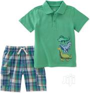 Kids Headquarters Boys Polo and Short Set | Children's Clothing for sale in Lagos State, Surulere