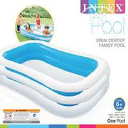 Inflatable Swimming Pool 2.62m X 1.75m X 56cm (103 X 69 X 22) | Sports Equipment for sale in Lagos State, Surulere