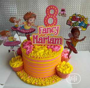 Swell Fancy Nancy Cake In Lagos State Party Catering Event Services Funny Birthday Cards Online Overcheapnameinfo