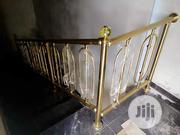 For Ur Gold And Black Stainless Hand Rails,Call   Building Materials for sale in Lagos State, Orile