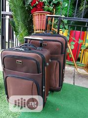 2 in 1 Quantity Brown Luggages | Bags for sale in Kogi State, Ofu