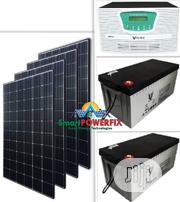 2.5kva 24v Solar Powered Inverter Installation With Debull Batteries | Building & Trades Services for sale in Abuja (FCT) State, Garki 2