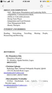 Accounting & Finance CV | Accounting & Finance CVs for sale in Lagos State, Surulere