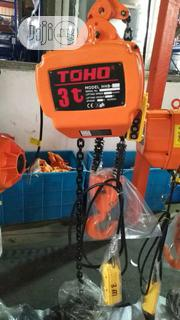 TOHO Electric Chain Hoist 3ton | Manufacturing Equipment for sale in Lagos State, Amuwo-Odofin