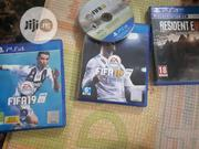 PS4 Fifa 1518 19 And Resident Evil Bio Hazard | Video Game Consoles for sale in Rivers State, Port-Harcourt