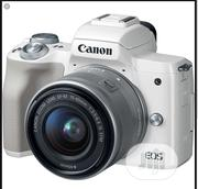 Canon EOS M50 Mirrorless With EF-M 15-45mm Is STM Lens | Photo & Video Cameras for sale in Lagos State, Ikeja
