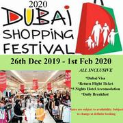 Dubai Visa /Shopping Festival Offer--all Inclusive | Travel Agents & Tours for sale in Lagos State, Ajah