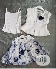 Turkey 3 in 1 Girls Top, Skirt and Singlet for All Occasion - 2-5years | Children's Clothing for sale in Lagos State, Isolo