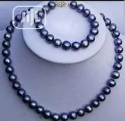 Blue/Black Pearl Jewellery Set | Jewelry for sale in Lagos State