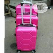 Bomber Trolley Luggage Travel Box 3set - Pink | Bags for sale in Lagos State, Lagos Island