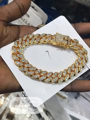Full Iced Cuban Handchain Available As Seen | Jewelry for sale in Lagos State, Lagos Island