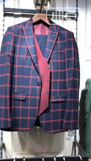 Quality Faith Men's 3pcs Checkers Suits | Clothing for sale in Lagos State, Lagos Island