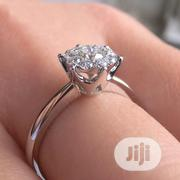 Silver 925 Non-fade Engagement Ring + Ring Box | Wedding Wear for sale in Abuja (FCT) State, Dutse-Alhaji