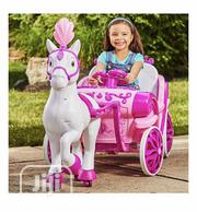 Disney Princess Royal Horse And Carriage, Girls 6V Battery Ride On   Toys for sale in Lagos State