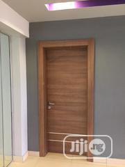 Classy Hdf Door With Chrome Lines Design | Doors for sale in Lagos State, Lagos Island