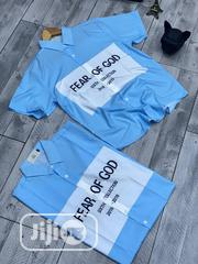 Original FEAR OF GOD Short Sleeves Shirt | Clothing for sale in Lagos State, Lagos Island