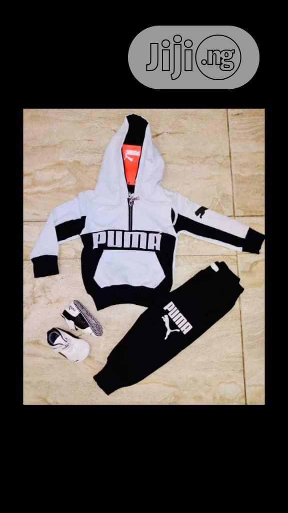 Puma Boy's Joggers | Children's Clothing for sale in Lagos Island, Lagos State, Nigeria