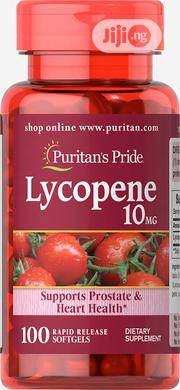 Puritans Pride Lycopene 10mg - 100 Softgels | Vitamins & Supplements for sale in Lagos State, Lekki Phase 1