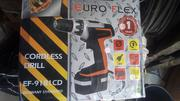 Euro Flex Cordless Drill Ef-9181 Cd | Electrical Tools for sale in Lagos State, Lagos Island