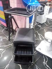 Beauty Salon Cart With Drawers, Pedicure Stool Seat With Wheels, | Salon Equipment for sale in Lagos State, Amuwo-Odofin