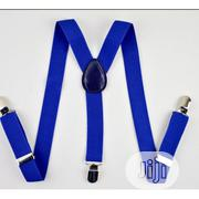 Men's Fashionable Suspender - Royal Blue   Clothing Accessories for sale in Ogun State, Abeokuta South