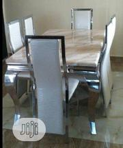 6- Seat Marble Dinning Set,Brand New(Lagos ) | Furniture for sale in Abuja (FCT) State, Dutse-Alhaji