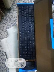 Hp 2.4G Wireless Keyboard With 2.4ghz Wireless Mouse Combo | Computer Accessories  for sale in Lagos State, Ikeja