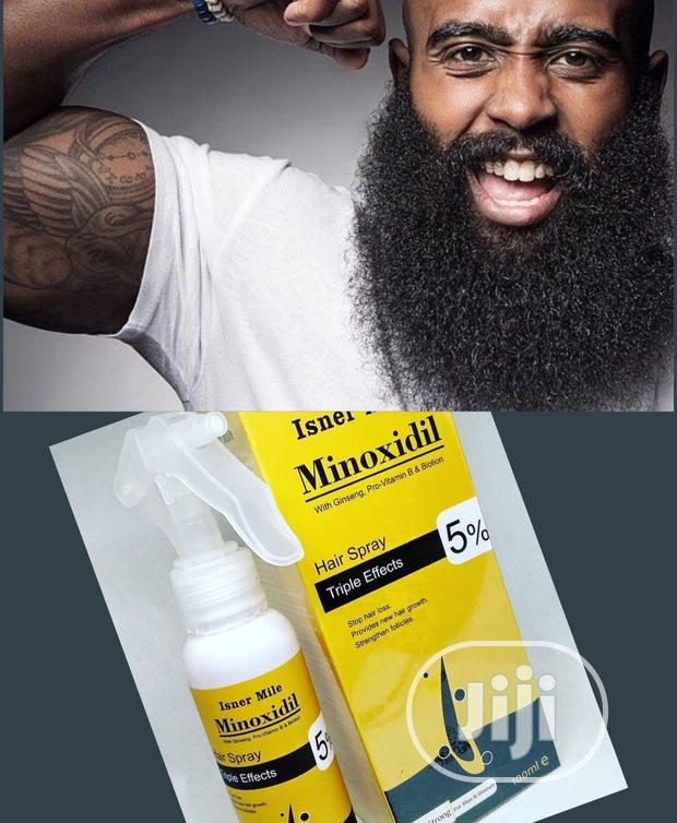 Isner Mile Minoxidil - Fast Beard Growth, Hair Booster Baldness