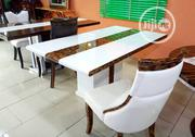 By 6ix Royal Crystal Marble Dinning Set. | Furniture for sale in Abuja (FCT) State, Dutse-Alhaji