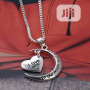 Love You to the Moon Back Necklace Pendant Charm Gift Present | Jewelry for sale in Ogun State, Abeokuta South