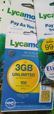 Lyca Mobile Uk Simcard | Accessories for Mobile Phones & Tablets for sale in Lagos State, Agege